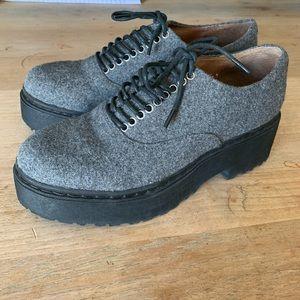 Jeffrey Campbell Baird Platform Oxford Shoes